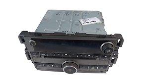Rádio CD Player Captiva 2013 c/entrada USB Original 22847154