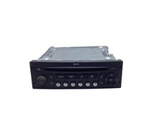 Rádio CD Player Som do Citroen C4 2010 96665701XT