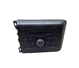 Rádio CD Player Honda Civic 2013/2016 39100TT4M01