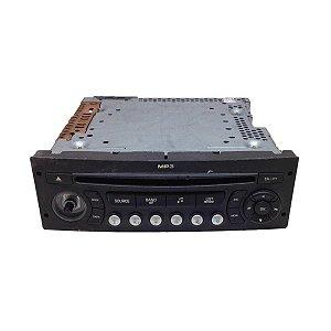 Rádio CD Mp3 Player Citroen C4 2008 96649344XT
