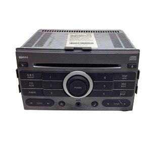 Radio CD Player Nissan Sentra 2007/2008 Original 28185ET002