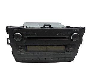 Rádio CD Player Toyota Corolla 2009/2013 8612002860A