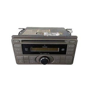 Rádio Som Toyota Etios 1.5 2013 CQJS01G3AZ