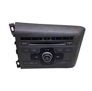 Radio CD Player Honda Civic 2012/2014 Original 39100TR0A61