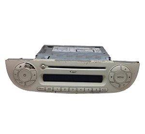 Radio CD Player FIAT 500 2009 BEGE Original 7648290316