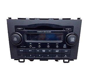Radio Central Multimidia Honda Crv 08/11 Orig. 39100swac004