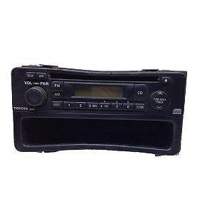 Radio CD Player Toyota Corolla 2003/2008 Original 0860000983