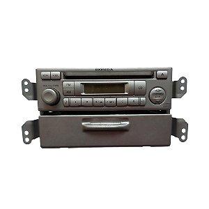 Rádio CD Player Honda Fit 2003/2008 39100SADM011