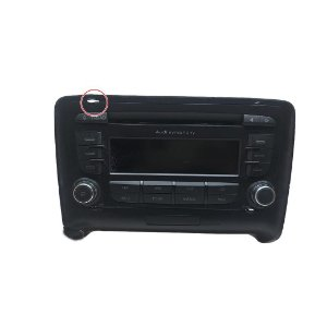 Radio CD Player Audi TT 2008/2009 Original 8J0035195A