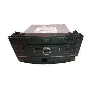 Radio CD Player Mercedes C250 C300 C350 08/12 A2048700794