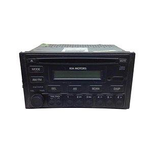 Rádio Som CD MP3 Clarion Kia Sportage 2010 7H3313BRK02