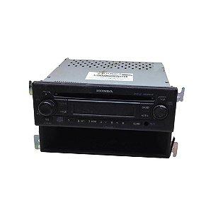 Radio CD Player Honda Fit 2009/2014 Original 08A50TJ0800
