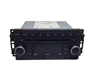Rádio CD Chrysler Jeep Dodge 2007/2012 05064951AH
