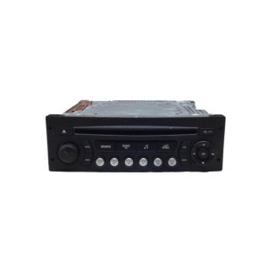 Rádio CD Player Peugeot 206/207/307 Citroen C4 96591399XT