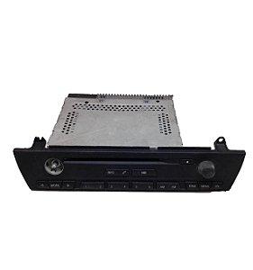 Radio CD Player BMW X3 2003/2009 Original 65129118823