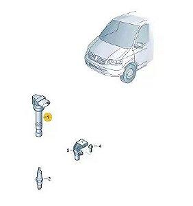 Bobina de Ignição Touareg Audi A3 Golf 022905715b