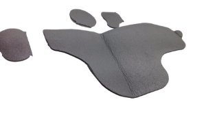 Capa Proteção Porta Tras. Direita Ecosport 03/12 2N15N24786AD