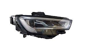 Farol Direito LED Audi A3 2019 Original 8V0941774C