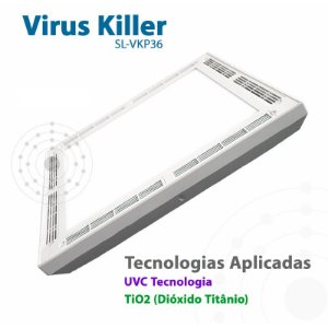 Luminária de LED Virus Killer