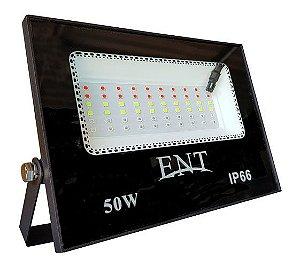 Refletor de Led RGB 50W de Qualidade com Garantia da SUPERLED (desde 2004)