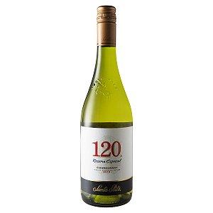 Vinho Branco 120 Reserva Especial Chardonnay Santa Rita 750ml
