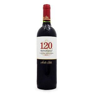 Vinho Tinto 120 Reserva Especial Cab. Sauvignon Santa Rita 750ml