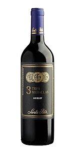 Vinho Tinto Tres Medallas Merlot Santa Rita 750ml