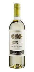 Vinho Branco Tres Medallas Sauvignon Blanc Santa Rita 750ml