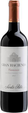 Vinho Tinto Gran Hacienda Carmenere Santa Rita 750ml