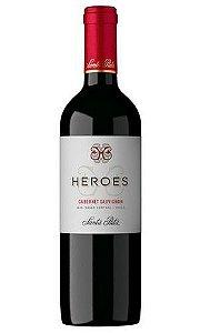 Vinho Tinto Heroes Cab. Sauvignon Santa Rita 750ml