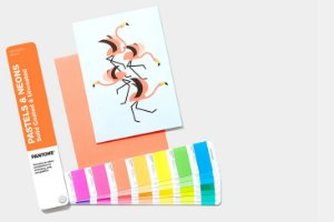Escalas Pantone Pastels e Neons Guide - Coated e Uncoated