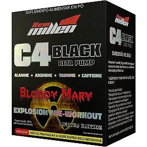 Pre treino C4 Black – 22 saches  - Sabor: Bloody Mary