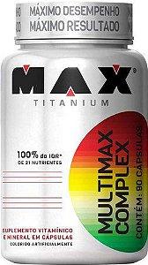 Multimax Complex - 90 caps