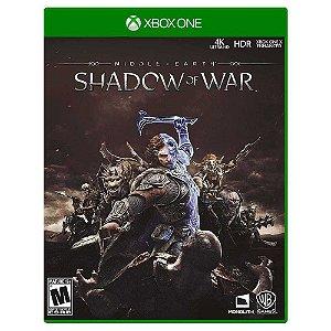 Terra Média: Sombras da Guerra (Usado) - Xbox One