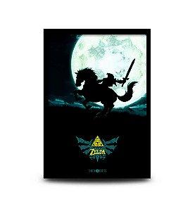 Quadro The Legend of Zelda: Ocarina of Time - 32,5 x 43cm