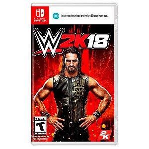 WWE 2k18 (Usado) - Switch