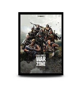 Quadro Warzone - 32,5 x 43cm