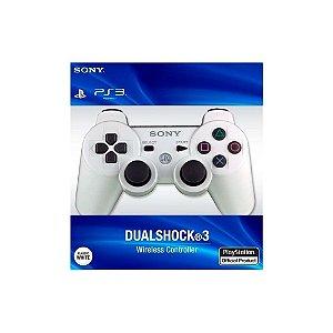 Controle Dualshock 3 - Branco