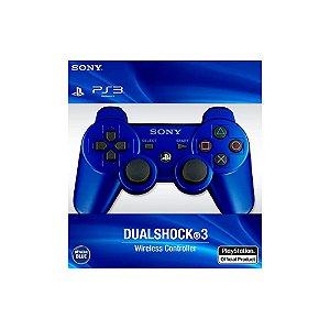 Controle Dualshock 3 - Azul