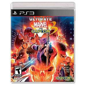 Ultimate Marvel vs. Capcom 3 (Usado) - PS3