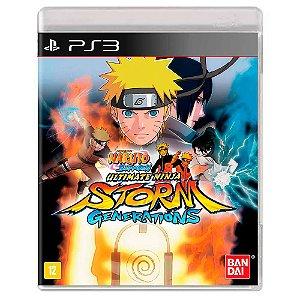 Naruto Shippuden: Ultimate Ninja Storm Generations (Usado) - PS3