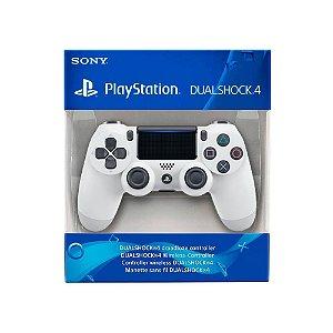 Controle Dualshock 4 1ª Linha - Branco - PS4
