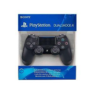 Controle Dualshock 4 1ª Linha - Preto - PS4