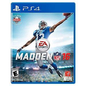 Madden NFL 16 (Usado) - PS4