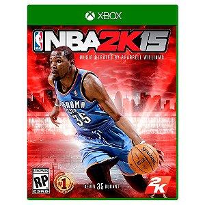 NBA 2K15 (Usado) - Xbox One