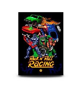 Quadro Rock n' Roll Racing - 32,5 x 43cm
