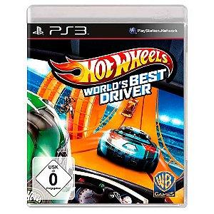 Hot Wheels: O Melhor Piloto do Mundo (Usado) - PS3