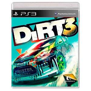 Dirt 3 (Usado) - PS3