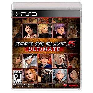 Dead or Alive 5 Ultimate (Usado) - PS3