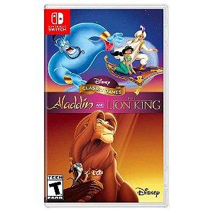 Disney Classic Games: Aladdin e o Rei Leão - Switch